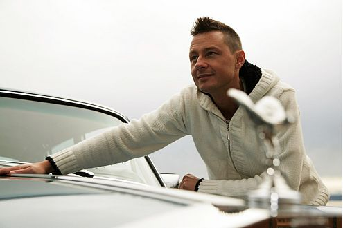 Uli (35) liebt eine Frau: Emily. Sie thront auf seinem Rolls-Royce Silver Shadow II von 1979.