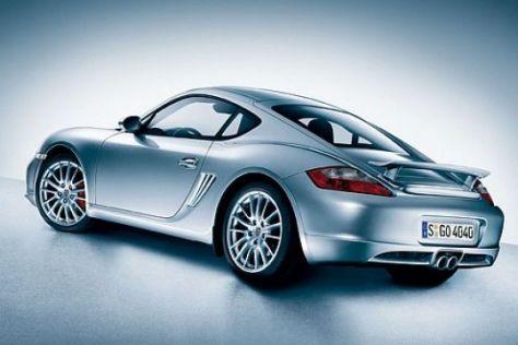 Aerokit für den Porsche Cayman