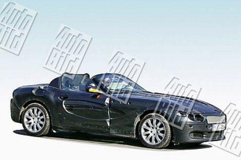 Erlkönig BMW Z4 Roadster