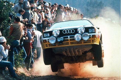 Ausflug ins Allrad-Lager: Freiflug im Audi quattro A2 (370 PS).
