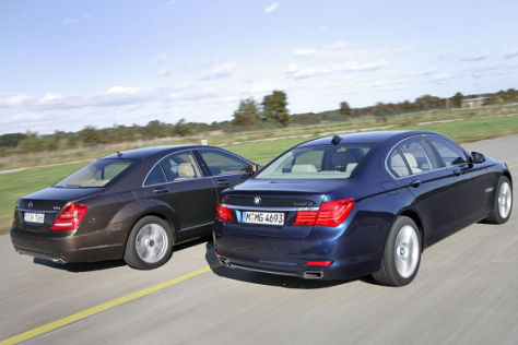 BMW 7er Mercedes S-Klasse
