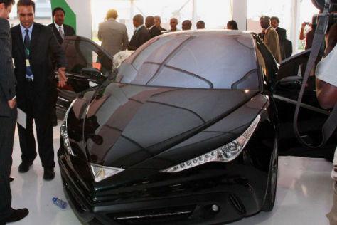Gaddafi-Auto geht in Serie