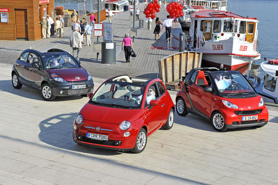 fiat 500c smart fortwo cabrio citro n c3 pluriel. Black Bedroom Furniture Sets. Home Design Ideas
