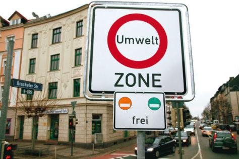 kleinste Umweltzone Deutschlands