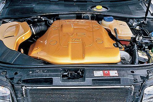"""Der 2.5 Liter TDI wurde auf 250 PS """"gesteuert"""". Drehmoment satt!"""