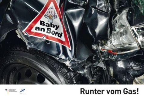 """Ausgezeichnet: DVR-Plakatkampagne """"Runter vom Gas!"""""""