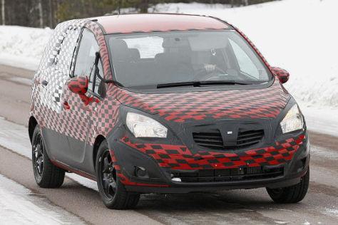 Erlkönig  Opel Meriva