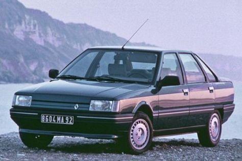Renault R21 in die Werkstatt