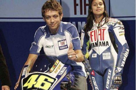 Valentino Rossi fährt für Fiat