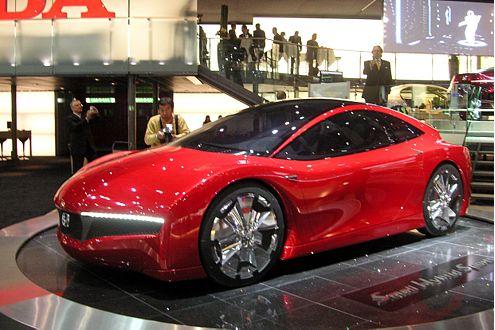Sportlicher Zwitter: Honda Small Hybrid Sports Concept.