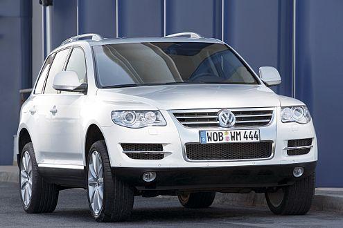 VW Touareg BlueTDI: dank Harnstoff-Kur fit für Kalifornien.