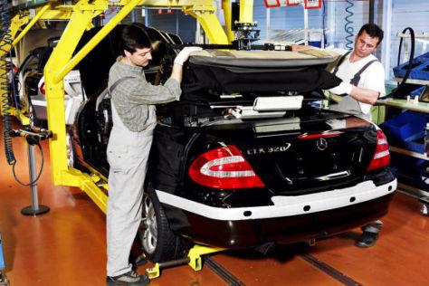 Mercedes-Benz CLK Cabriolet  Dacheinbau