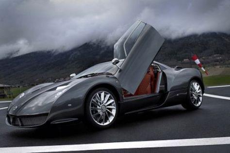 Spyker C12 Zagato in Genf