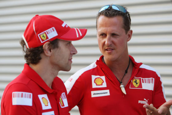 Ferrari Schumacher Badoer