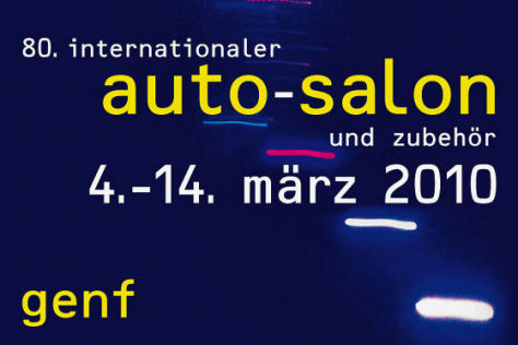 80. Internationaler Autosalon Genf 4.-14. März 2010