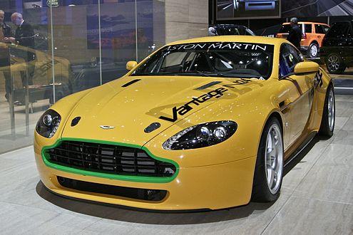 Auslieferung im April, aber längst ausverkauft: der Aston Martin N24.