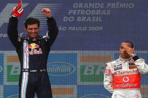 Lewis Hamiltons Jubel über den dritten Platz hielt sich in Grenzen