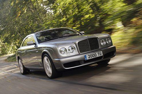 Ein exklusives Erlebnis: Bentley baut nur 550 Brooklands.