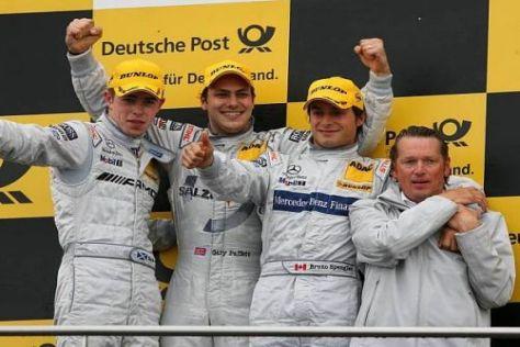Sternfahrt: Mercedes durfte in Dijon einen Fünffachsieg feiern