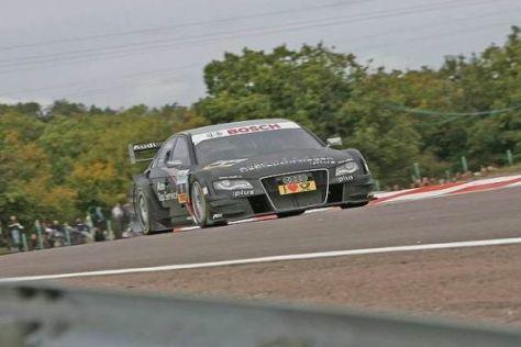 Timo Scheider wurde von Startplatz 16 aus noch bester Audi-Pilot