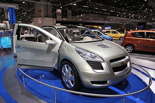 Chevrolet Sequel: Brennstoffzelle mit gnadenlos schönem Drumherum.