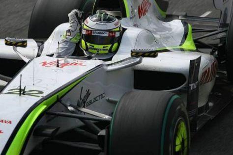 Jenson Button würde nur zu gerne auch im kommenden Jahr für Brawn jubeln...