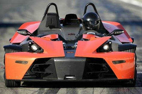 Studie KTM X-Bow (mit VIDEO)