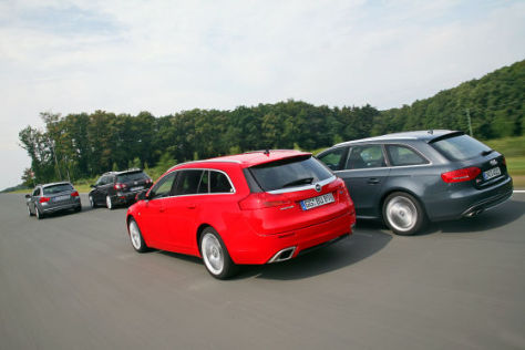 Opel Insignia OPC Sports Tourer BMW 335i xDrive Touring Audi S4 Avant VW Passat Variant R36