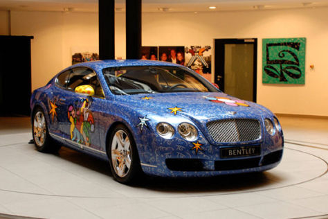 Pop-Art-Bentley