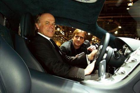Gerüchte um Bugatti-Chef