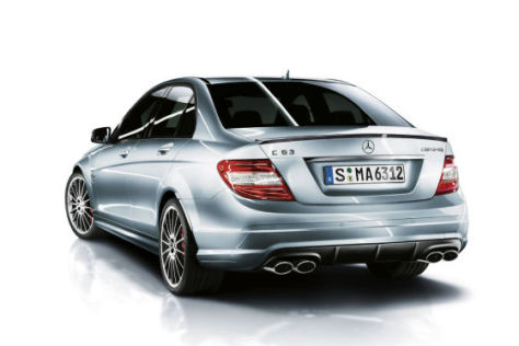 Mercedes C 63 AMG mit Performance Package Plus