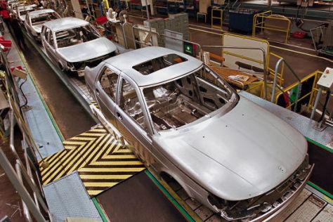 Produktion Saab 9-5