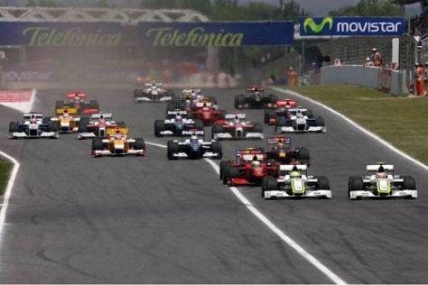 So eng beisammen wie in diesem Jahr lag das Formel-1-Feld noch nie