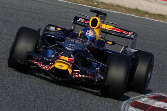Loeb im Red Bull