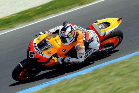 Andrea Dovizioso und das Honda-Team wollen in Sepang ordentlich punkten