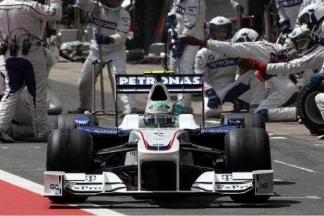 Das BMW Sauber F1 Team verabschiedet sich endgültig aus der Königsklasse