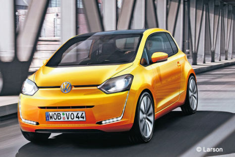 VW up! Coupé Illustration