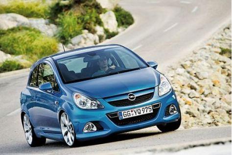 Test Opel Corsa OPC