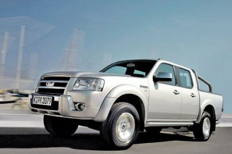 Test Ford Ranger 2.5 TDCi