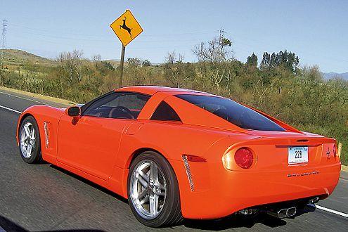 Der amerikanische Ferrari: Callaway C16 auf Corvette-Basis.