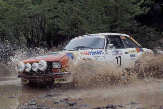 Todt als Rallye-Beifahrer
