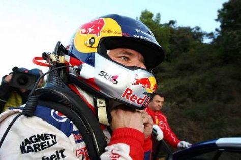 Sébastien Loeb liegt nach dem ersten Tag der Rallye Wales in Führung