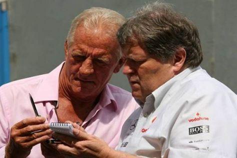 Norbert Haug gibt an, dass mit Jenson Button derzeit nicht verhandelt wird