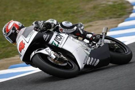 Hiroshi Aoyama setzt seine Konkurrenten unter Druck und fährt zur Trainingsbestzeit