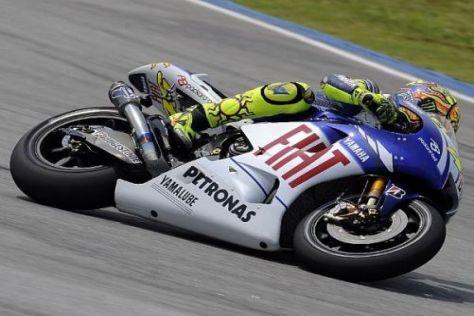 Rundenrekord, Pole-Position, WM-Titel? Valentino Rossi ist in Sepang sehr schnell