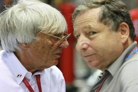 Das neue starke Gespann der Formel 1: Bernie Ecclestone und Jean Todt