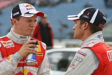 Mattias Ekström und Timo Scheider können mit ihrer Leistung zufrieden sein