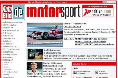 Der neue Motorsport-Channel auf autobild.de