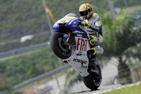Valentino Rossi holte sich in Sepang bereits seine neunte Weltmeister-Krone ab