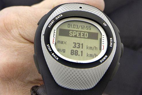 Eisbrecher: Der Bentley erreichte kurzzeitig sogar 331 km/h.